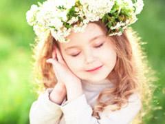 童年,那美丽的花环!