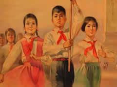 《我们是共产主义接班人》--儿童合唱团