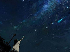 夜空中最闪亮的星星