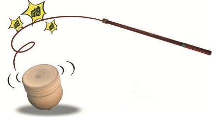 陀螺制作方法 抽陀螺的玩法和规则详解 1987年