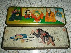 童年铁皮文具盒内隐藏的秘密