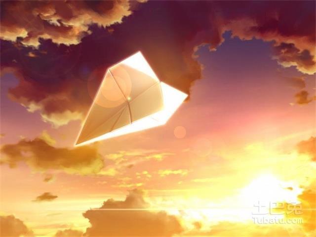 纸飞机,唤醒童年的记忆